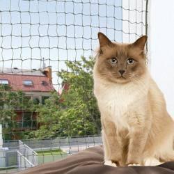 Trixie Siatka ochronna wzmocniona na okno zielona 2x1,5m