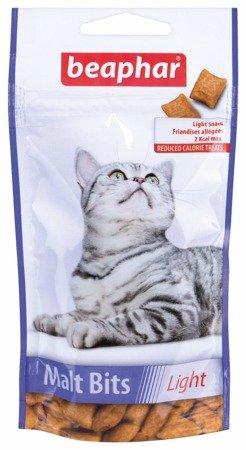Beaphar Malt Bits Light przysmak odkłaczający dla kotów 35g