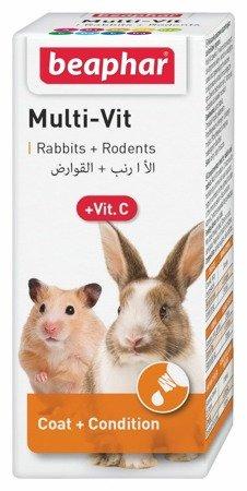 Beaphar Multi Vit witaminy dla gryzoni 20ml