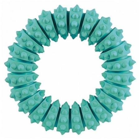 Dentystyczny pierścień masujący dziąsła - aromat miętowy - 12,5 cm