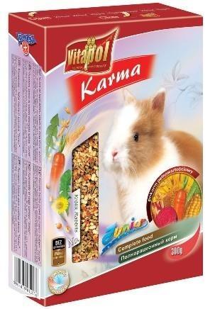 Drobny pokarm dla młodych królików - 300 g
