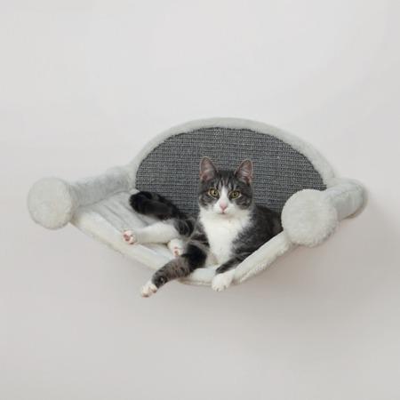Hamak dla kota na ścianę z drapakiem
