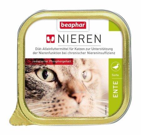 Karma dla kotów z niewydolnością nerek z kaczką Nieren Ente 100g
