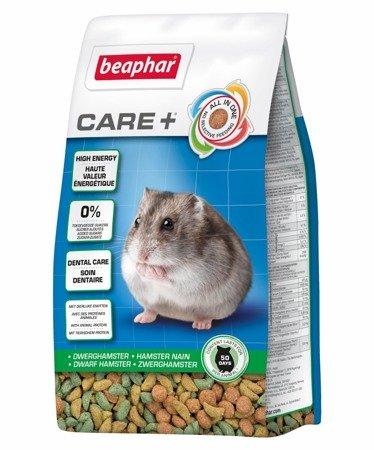 Karma klasy Super Premium dla chomików karłowatych Care+ Dwarf Hamster 250g