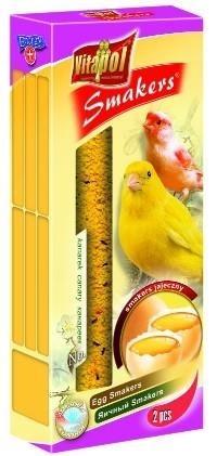 Kolby jajeczne dla kanarków - 2 sztuki