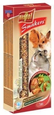Kolby o smaku orzechowym dla królików oraz gryzoni - 2 sztuki