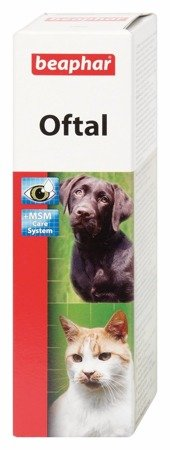 Krople do pielęgnacji oczu u psów i kotów - 50 ml