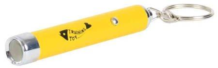 Laser dla kota, wskaźnik LED z motywem ryby