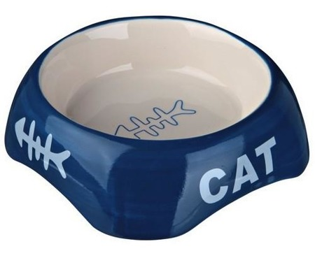 Miska dla kota wykonana z ceramiki - 200 ml