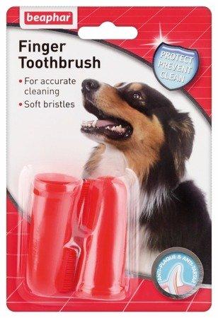 Naparstkowa szczotka do zębów dla psów