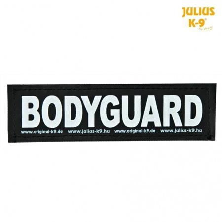 Naszywka Bodyguard na rzep do szelek Julius-K9® 2 sztuki