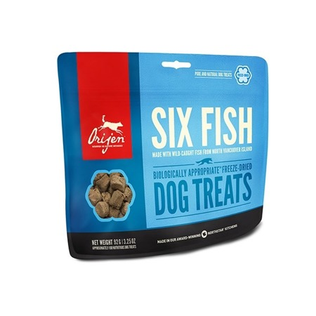 Orijen 6 Fish Dog Treats 42,5 g