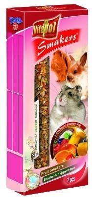 Owocowe kolby przeznaczone dla królików i gryzoni - 2 sztuki