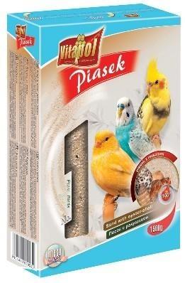 Piasek uzupełniony o muszle dla ptaków - 1,5 kg