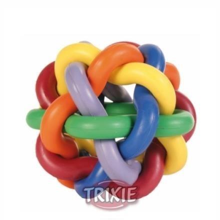 Piłka pleciona z lanej gumy - 7 cm