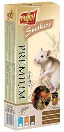 Przekąska w formie kolb premium dla szczurów - 100 g