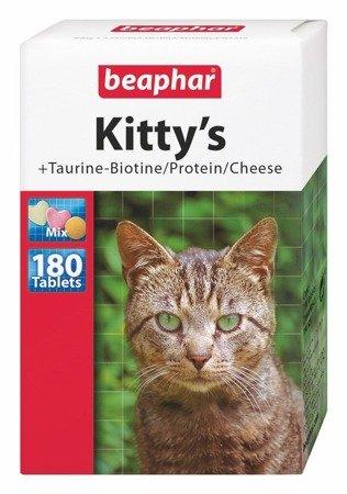 Przysmak multiwitaminowy dla kotów Kitty's Mix Taurine‐Biotine/Protein 180 sztuk