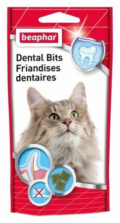 Przysmak na zęby z chlorofilem dla kota Beaphar Dental Bits 35g