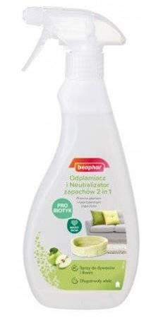 Spray usuwający plamy po zwierzętach i neutralizator zapachów 2w1 - 500 ml