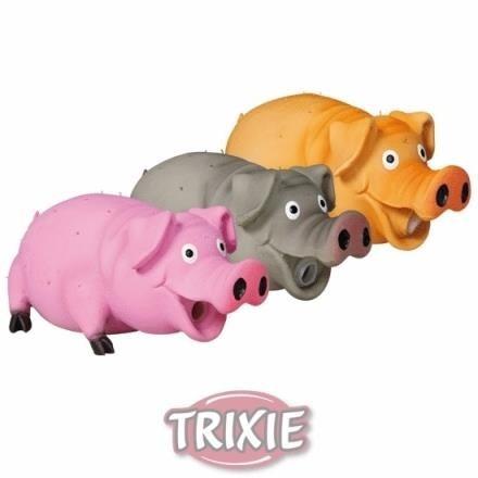 Świnia chrumkająca z lateksu dla psa - 21 cm