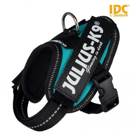 Szelki Julius-K9 IDC® dla psa XS turkusowe