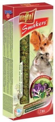 Kolby z lucerną dla gryzoni i królików - 2 sztuki
