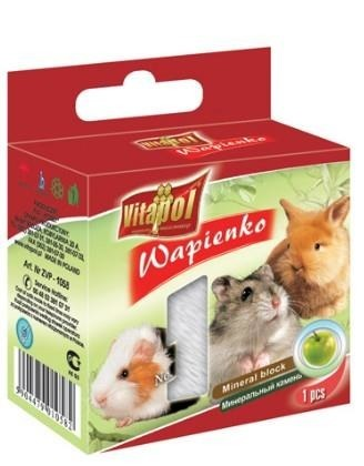 Wapno dla królików i gryzoni o jabłkowym smaku - 40 g