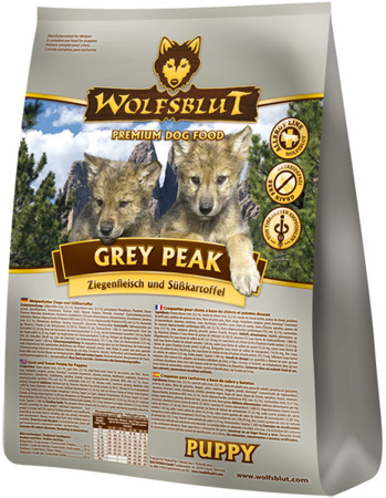 Wolfsblut Dog Grey Peak Puppy koza i bataty